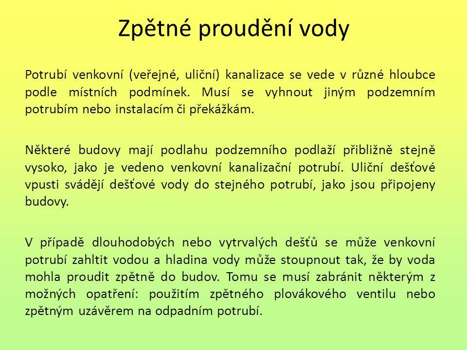 Seznam použité literatury: [1] Adámek, M., Jurečka, A.: Instalace vody a kanalizace II.