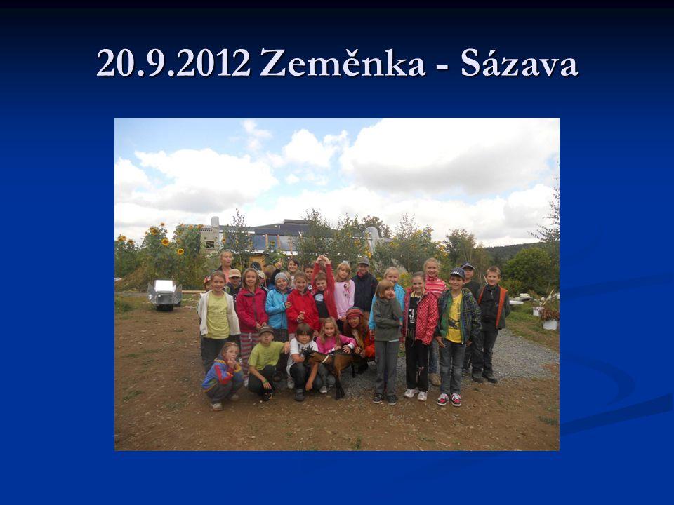 4.10.2012 Ovocné sady Bříství Dne 4.10.jsme byli v Ovocných sadech v Bříství.