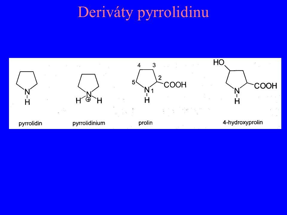 Deriváty pyrrolidinu