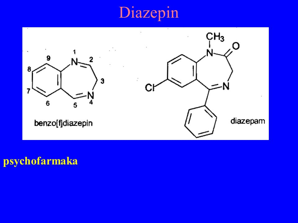 Diazepin psychofarmaka