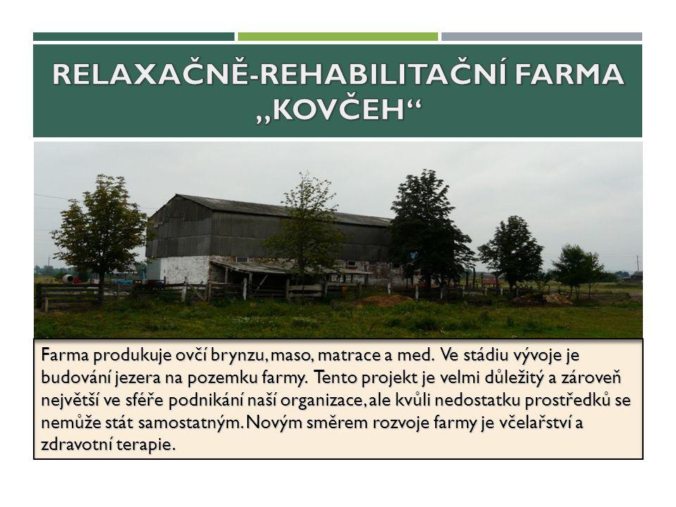 Farma produkuje ovčí brynzu, maso, matrace a med. Ve stádiu vývoje je budování jezera na pozemku farmy. Tento projekt je velmi důležitý a zároveň nejv