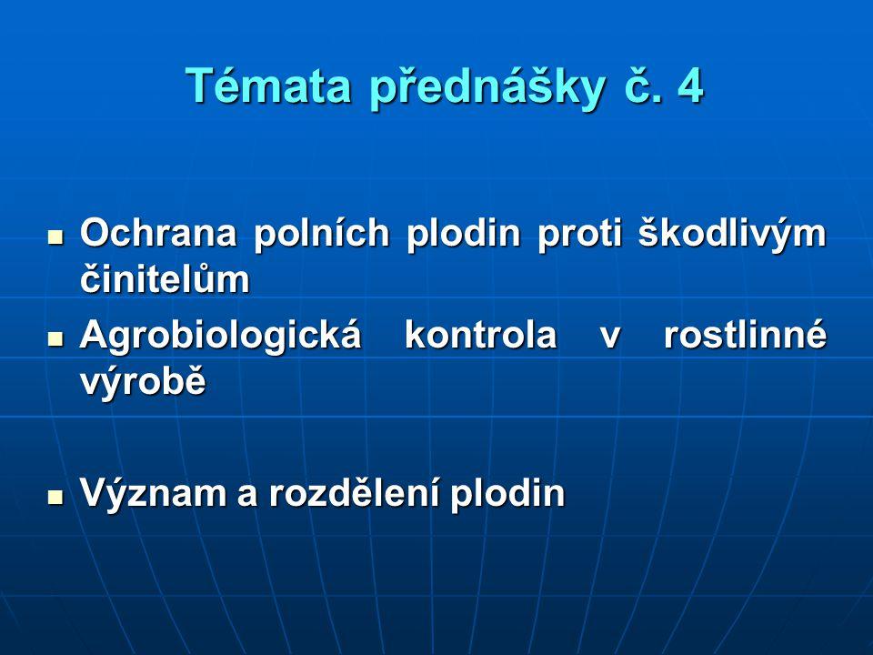 Témata přednášky č.