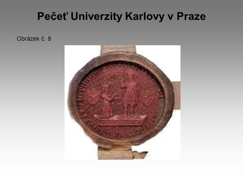 Pečeť Univerzity Karlovy v Praze Obrázek č. 8