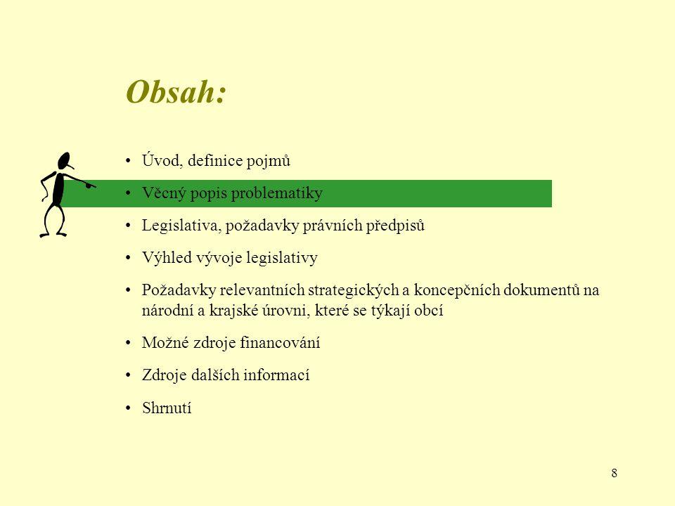 19 Legislativa ČR - výhled Připravovaná novela zákona č.
