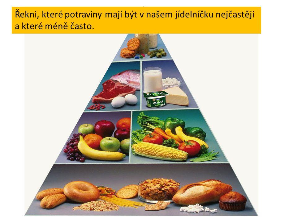 Škrtni potraviny a nápoje, které dětem neprospívají nebo dokonce škodí.