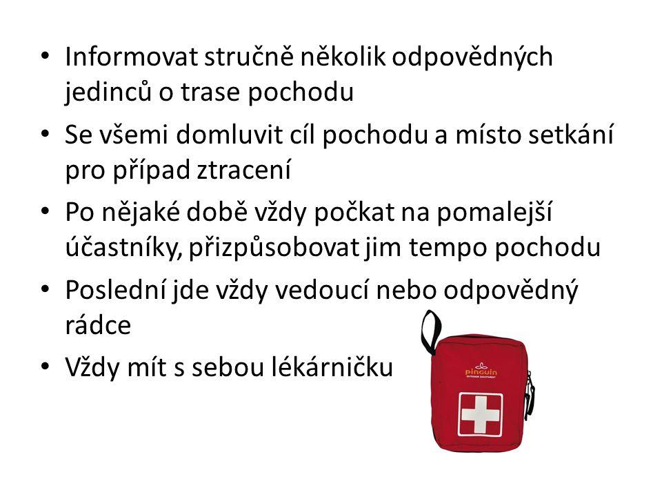A to je vše Buď připraven Zdroje: Prezentace Bezpečnost ČK Řemřich Praha Junák - Čekatelská zkouška