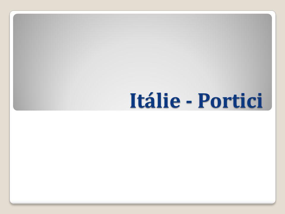 Itálie - Portici