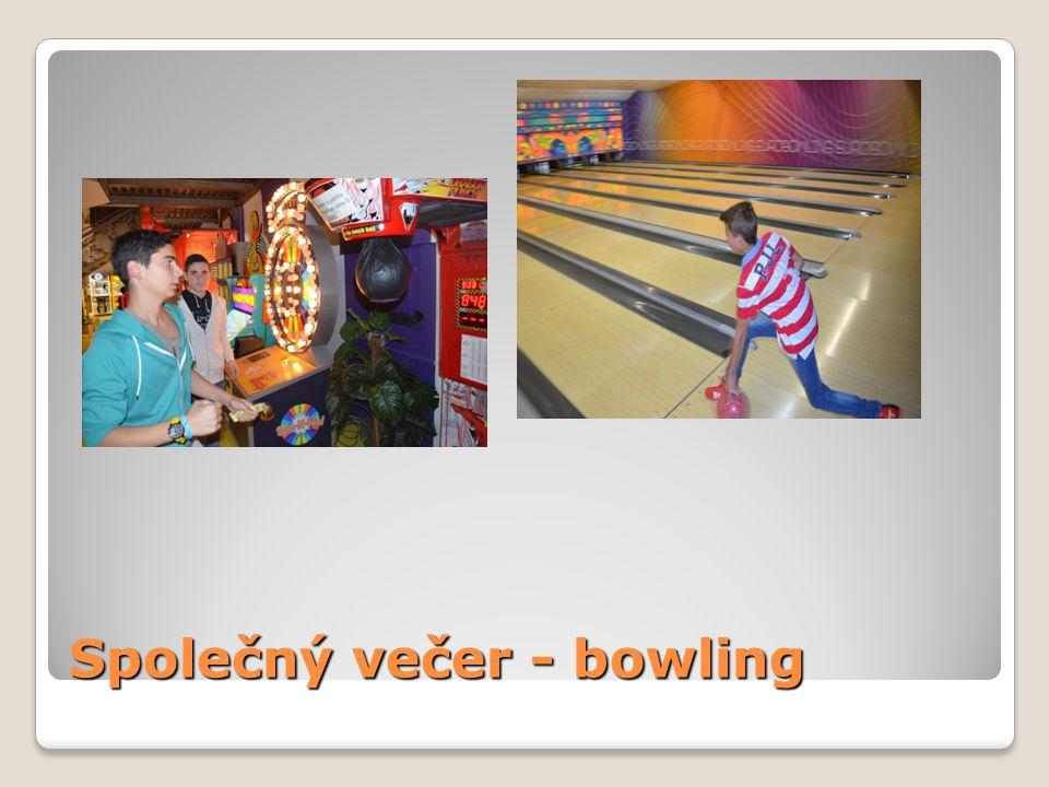 Společný večer - bowling