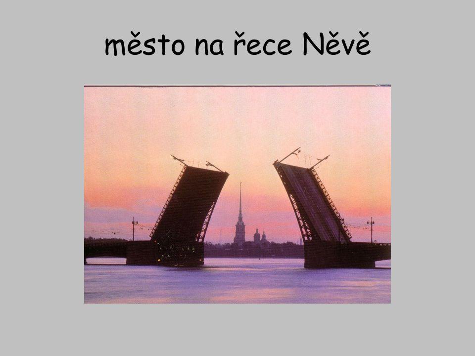 město na řece Něvě