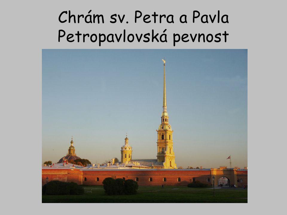 """Petěrburg leží na ostrovech a městem protéká několik kanálů proto se městu přezdívá """"Benátky Severu"""