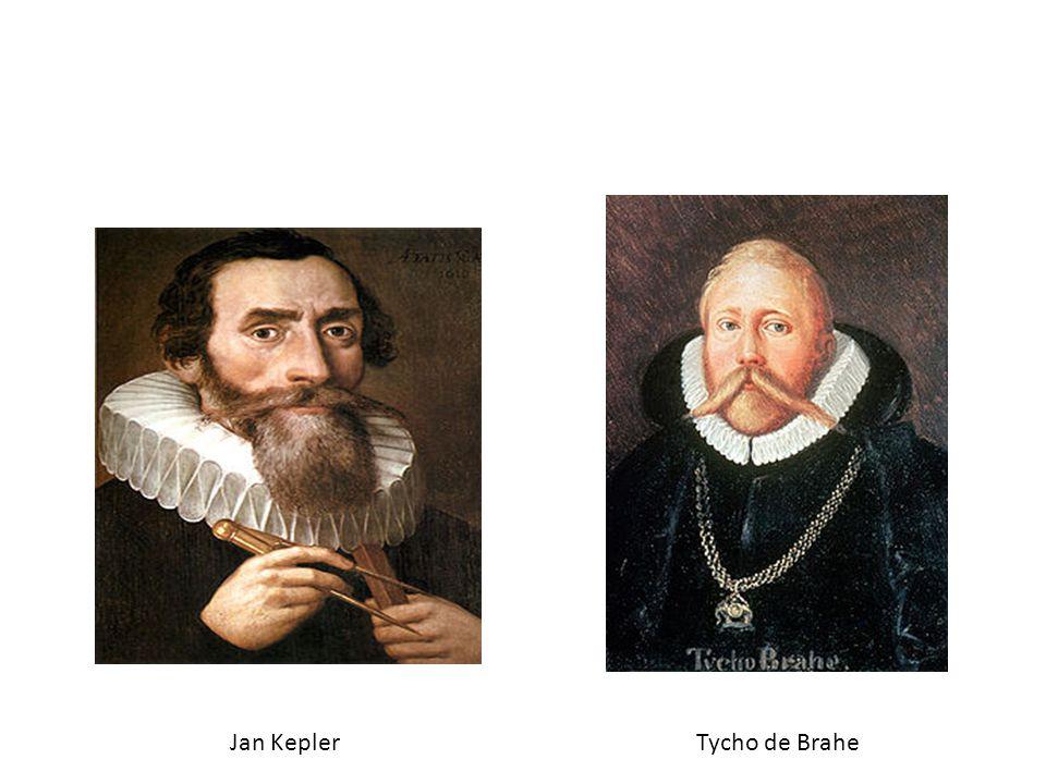 Jan KeplerTycho de Brahe