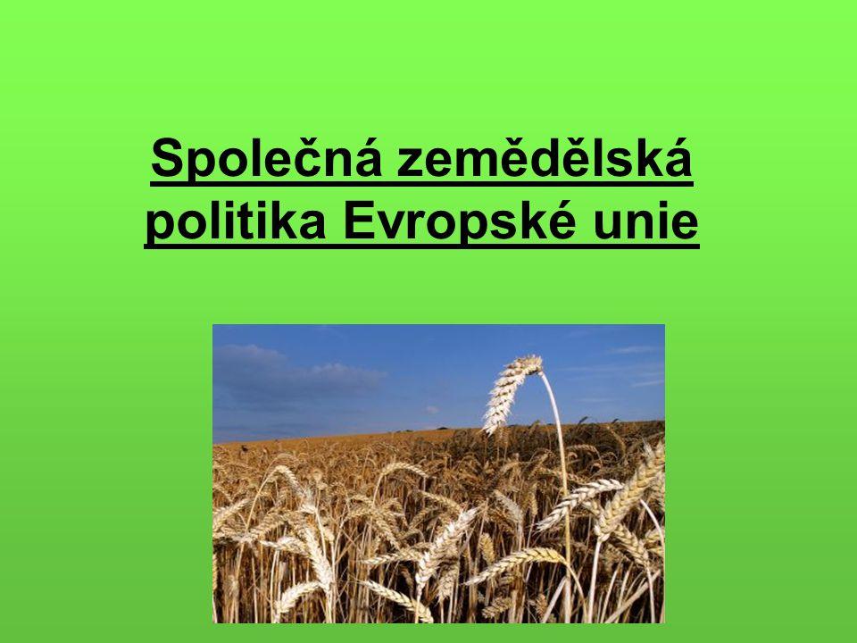 Společná zemědělská politika Evropské unie