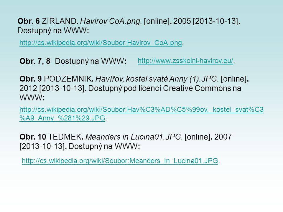 http://cs.wikipedia.org/wiki/Soubor:Havirov_CoA.pnghttp://cs.wikipedia.org/wiki/Soubor:Havirov_CoA.png. http://cs.wikipedia.org/wiki/Soubor:Meanders_i
