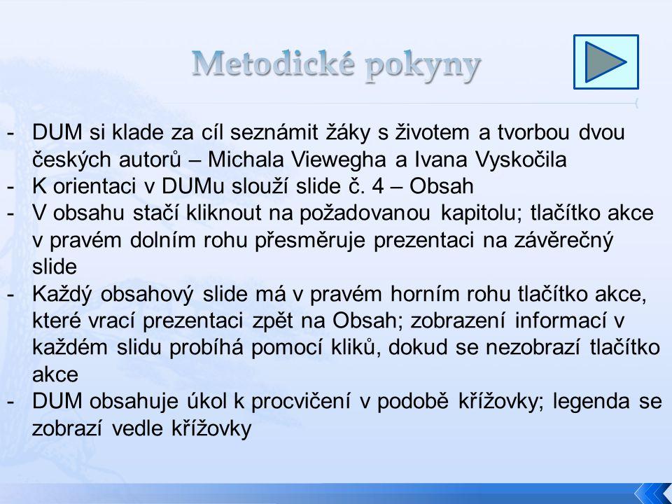 Michal Viewegh Ivan Vyskočil