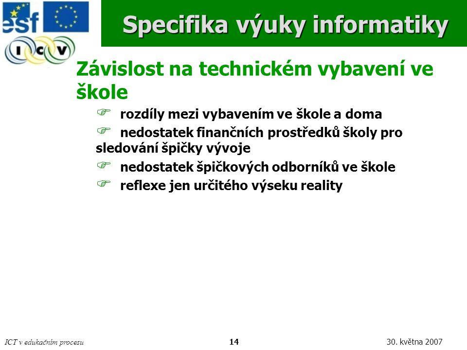 ICT v edukačním procesu1430.