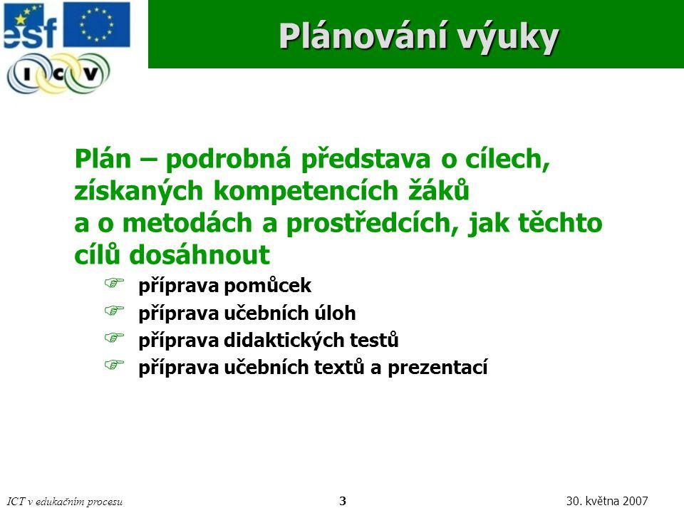 ICT v edukačním procesu430.
