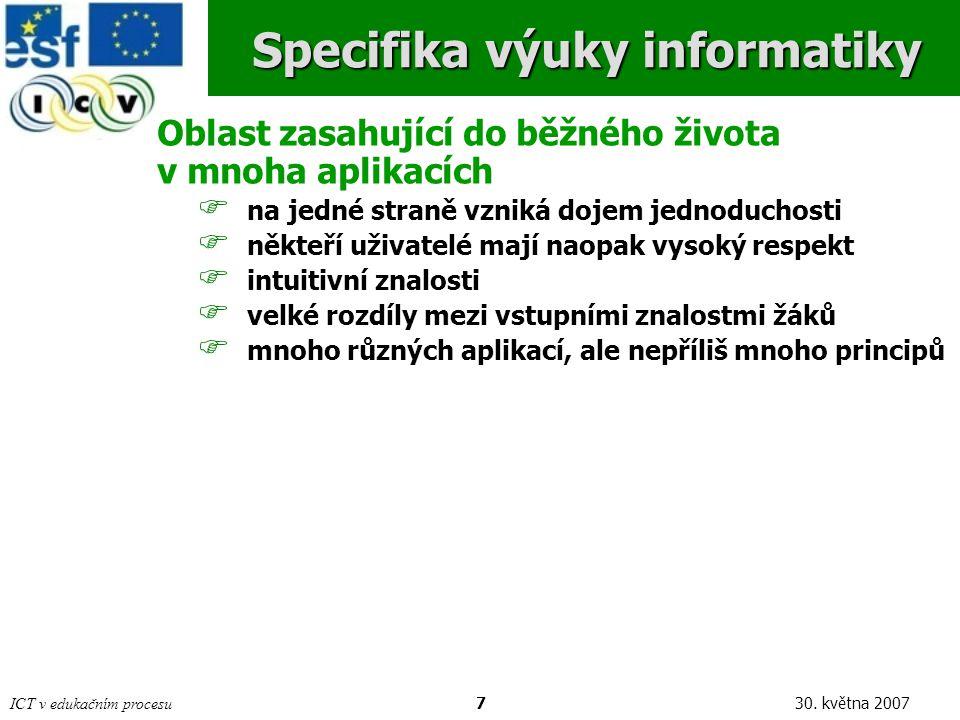 ICT v edukačním procesu730.
