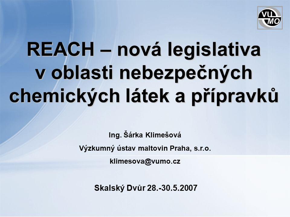 Nařízení (Regulation) Evropského parlamentu a Rady (ES) č.