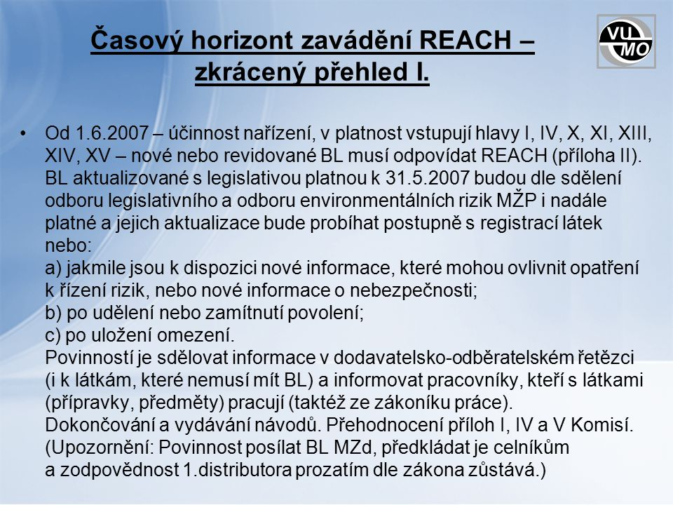 Děkuji za pozornost Ing.Šárka Klimešová Výzkumný ústav maltovin Praha, s.r.o.