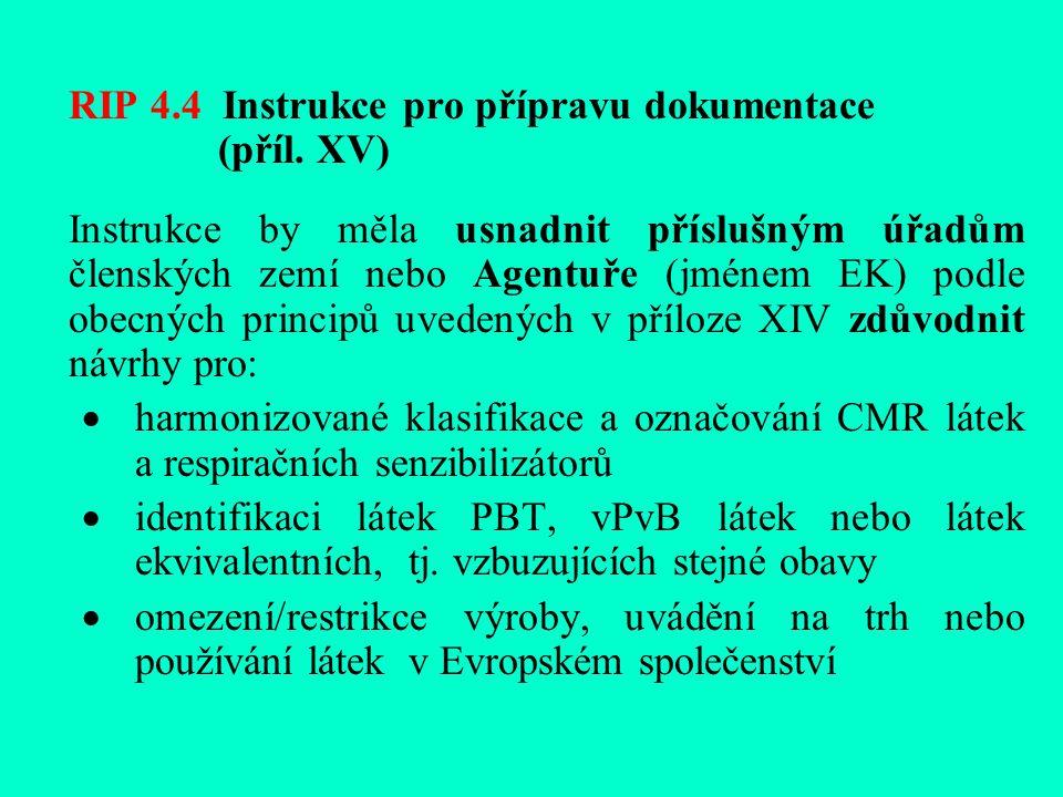 RIP 4.4 Instrukce pro přípravu dokumentace (příl.