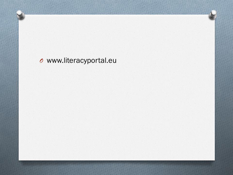 O www.literacyportal.eu