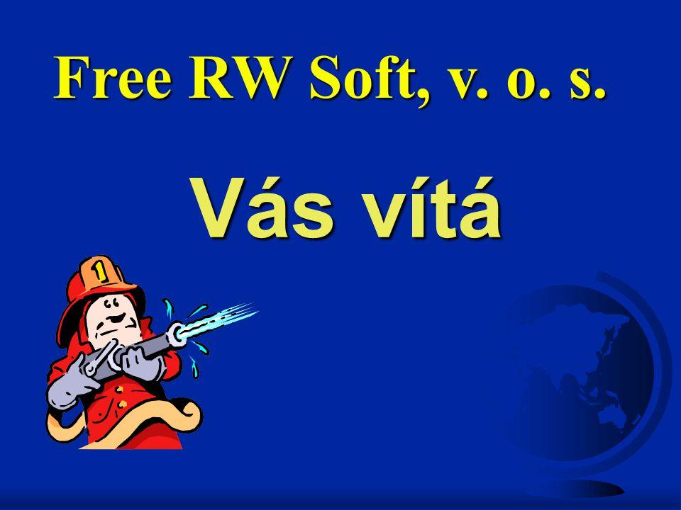 Vás vítá Free RW Soft, v. o. s.