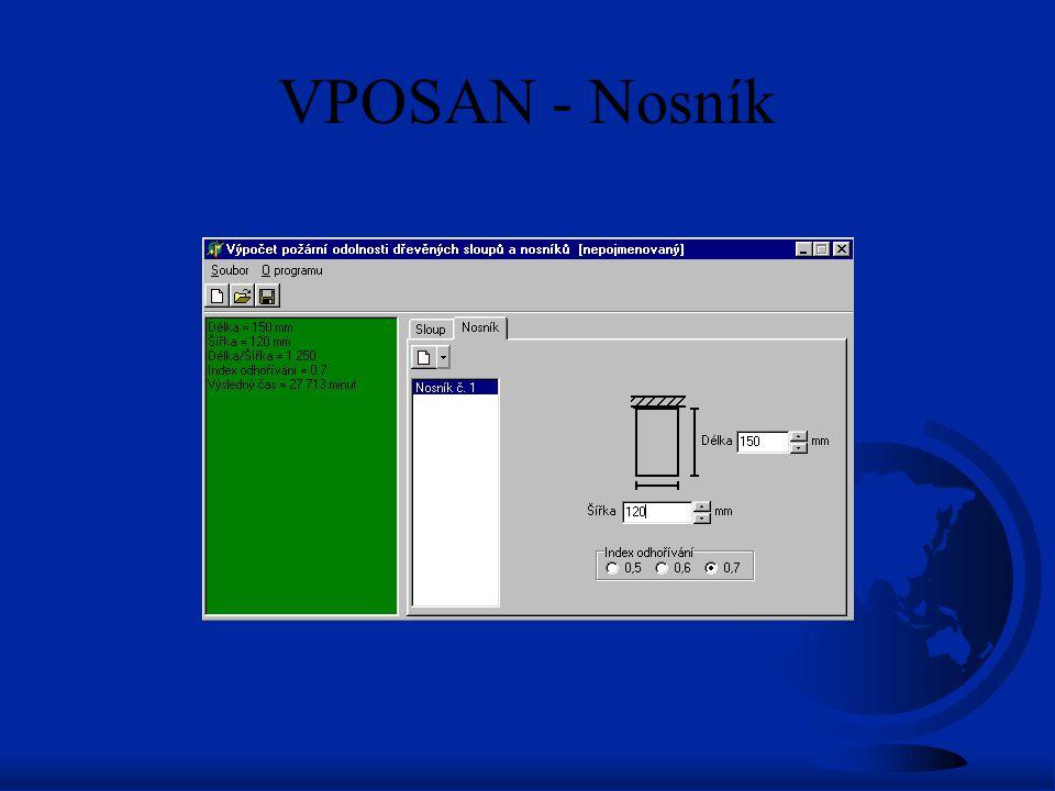 VPOSAN - Nosník