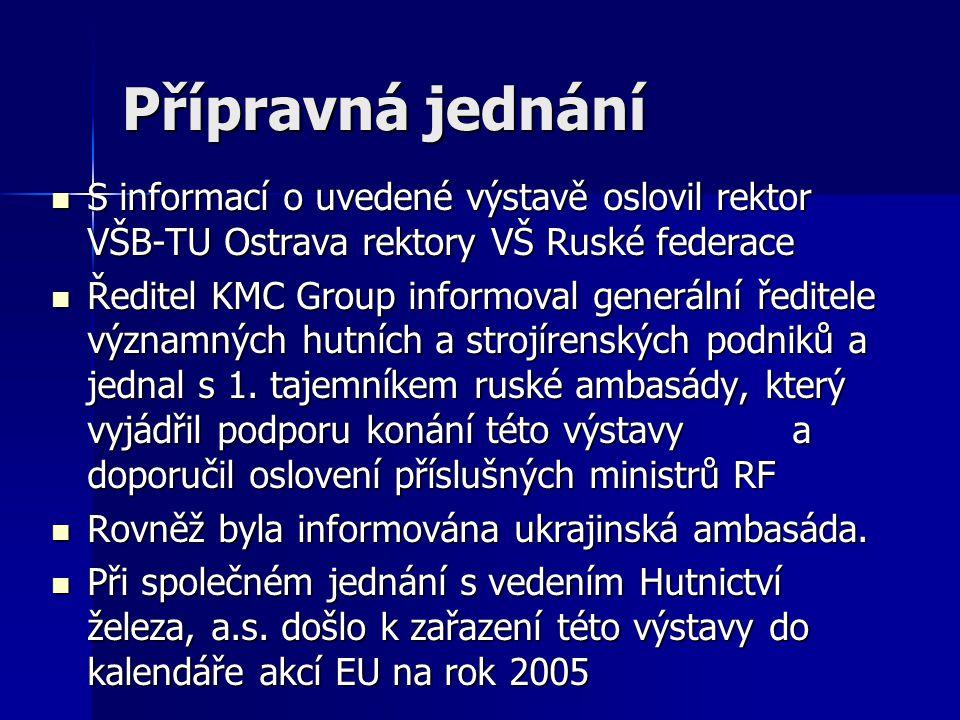 Evropská výstava patentů a vynálezů Rozvoj Česko-Ruské spolupráce na Průmyslovém veletrhu Ostrava 24.