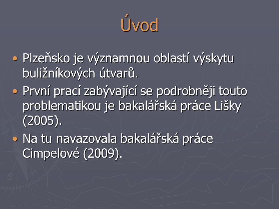 Úvod Plzeňsko je významnou oblastí výskytu buližníkových útvarů.Plzeňsko je významnou oblastí výskytu buližníkových útvarů. První prací zabývající se