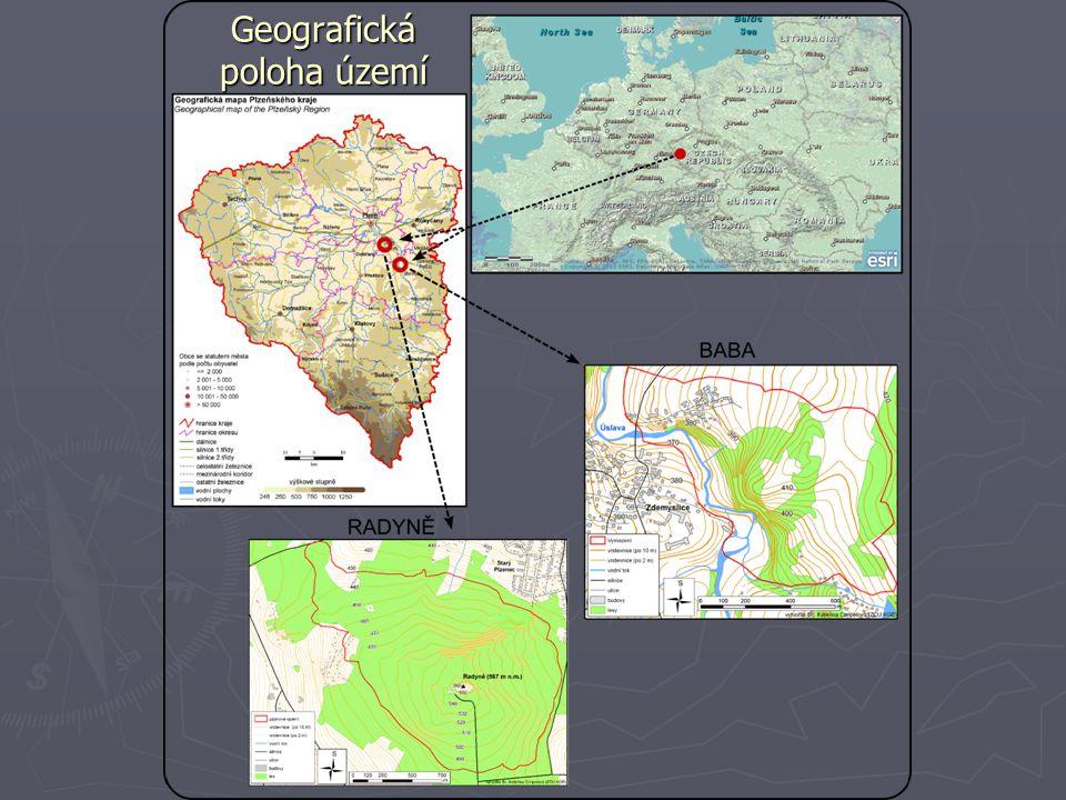 Geografická poloha území