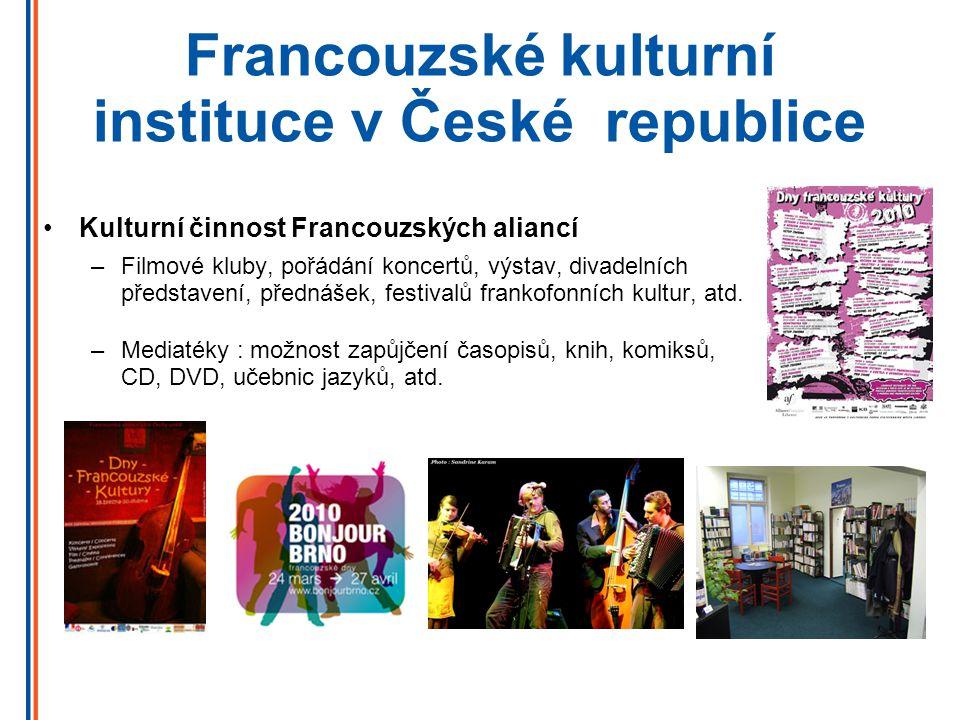 Kont@kty CampusFrance Česká republika Štěpánská 35 - 111 21 Praha 1 Tel.
