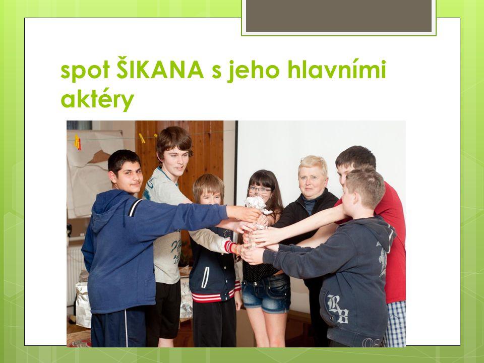 spot ŠIKANA s jeho hlavními aktéry