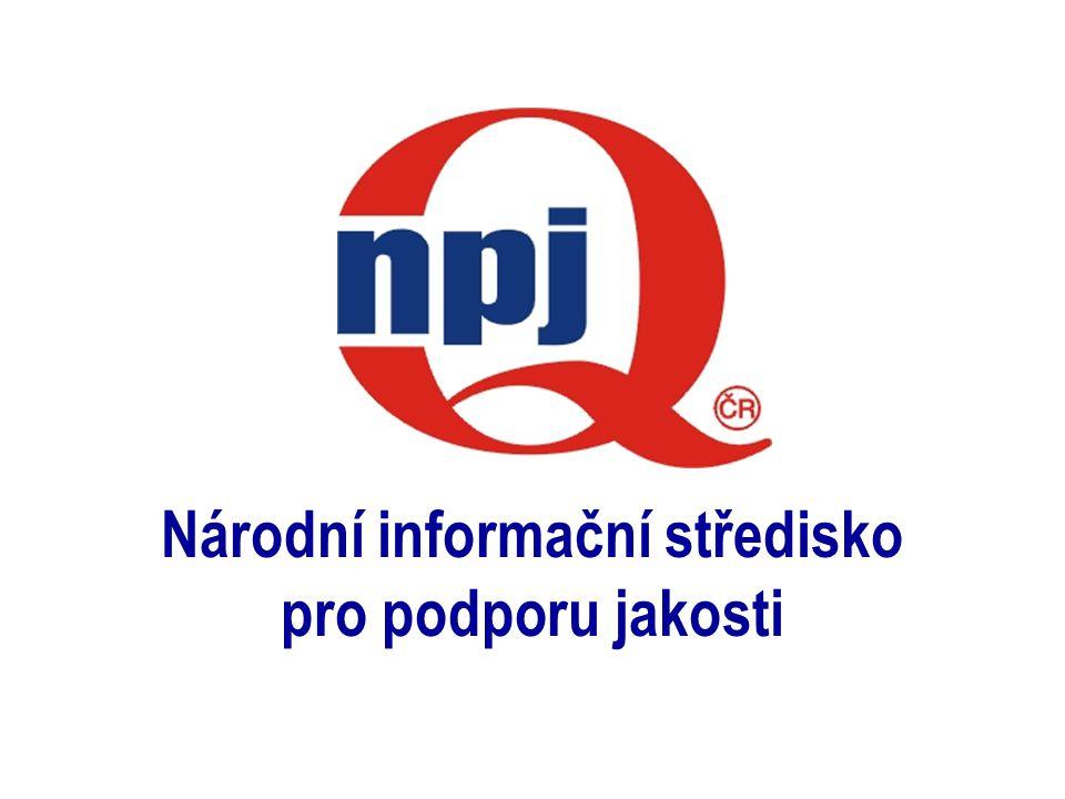 1 Národní informační středisko pro podporu jakosti