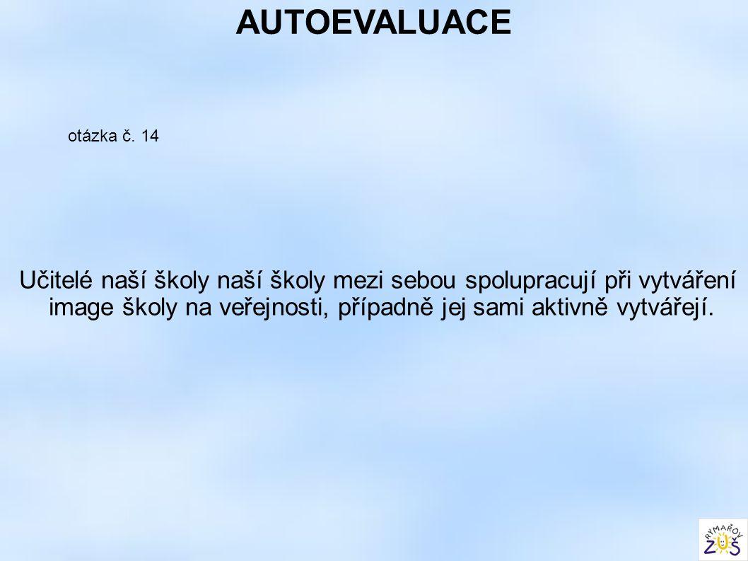AUTOEVALUACE otázka č.
