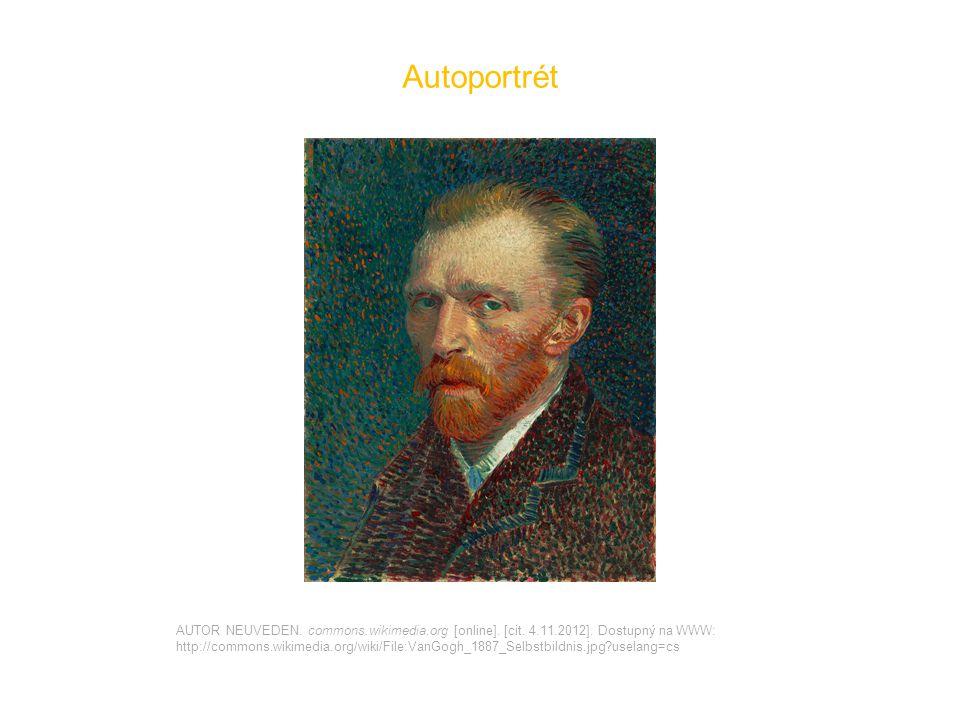 Autoportrét AUTOR NEUVEDEN. commons.wikimedia.org [online].