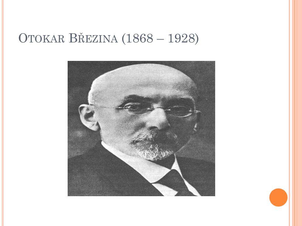 O TOKAR B ŘEZINA (1868 – 1928)