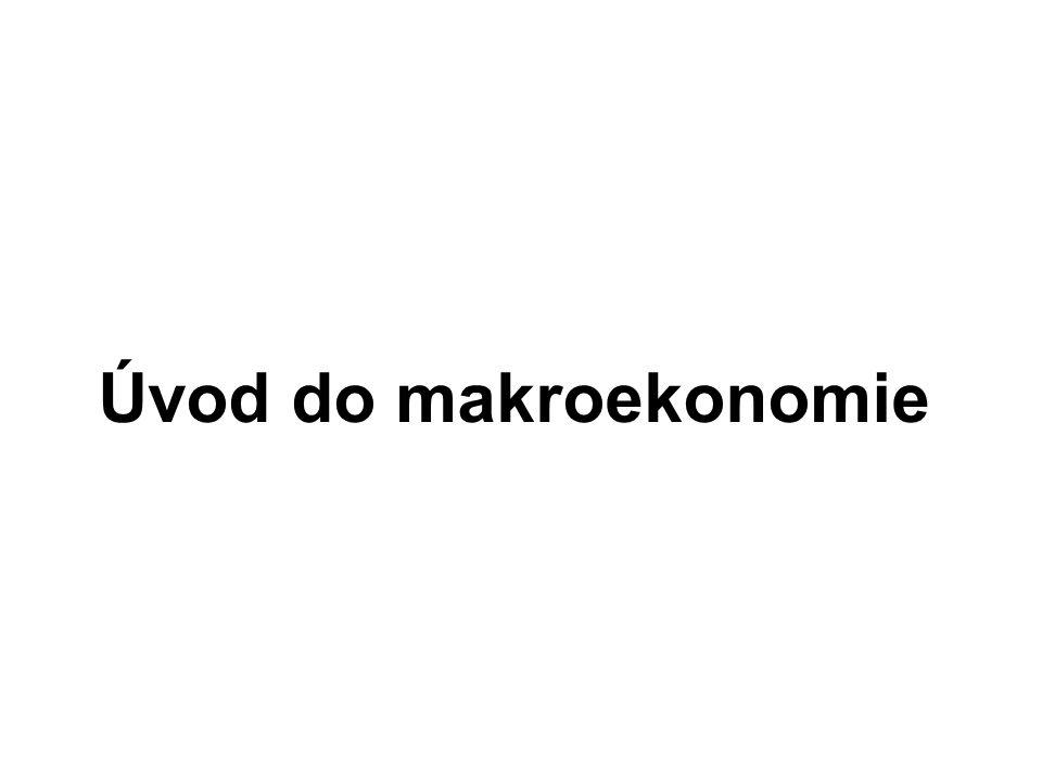 Úvod do makroekonomie