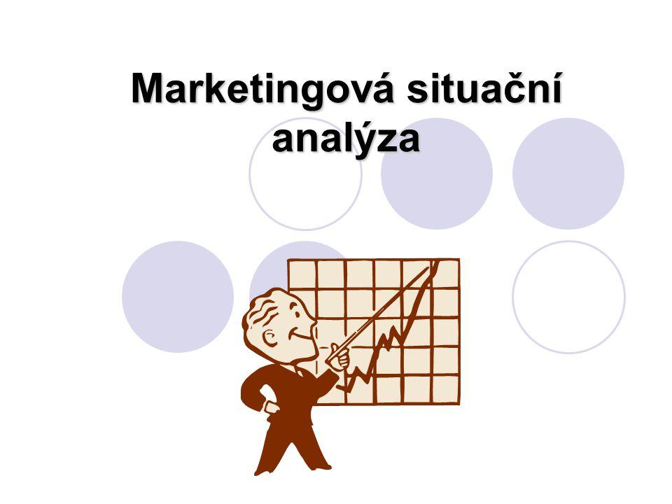 Vzdělávací oblast:Ekonomické vzdělávání Tematická oblast:Marketing a řízení hotelu Název vyučovací oblasti: Marketingová situační analýza Ročník / obor studia:III..