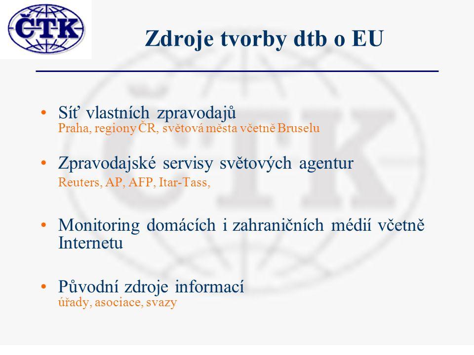 Souborná dtb EU - zdroje