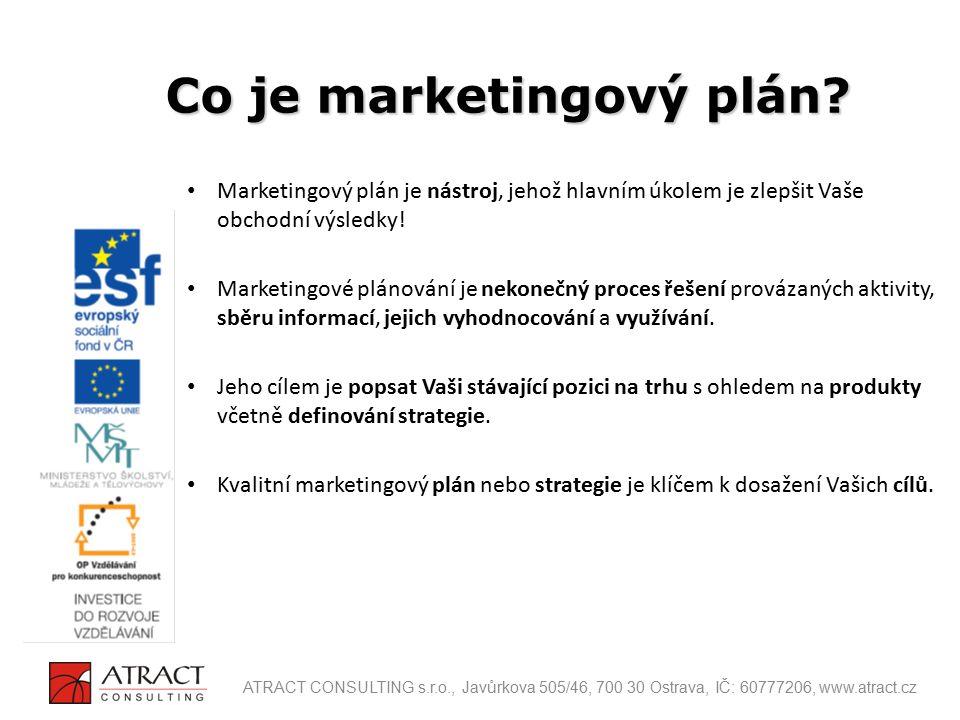 Marketingový plán je nástroj, jehož hlavním úkolem je zlepšit Vaše obchodní výsledky! Marketingové plánování je nekonečný proces řešení provázaných ak