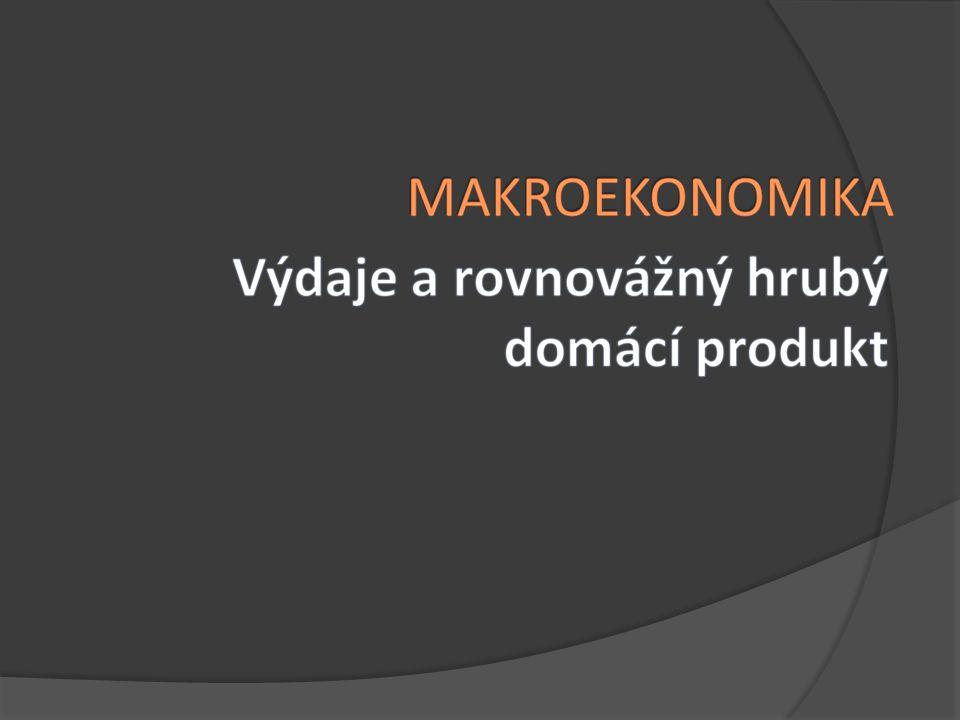  Import - Ma – autonomní import - m – mezní sklon k importu NX = Xa – Ma – m.HDP