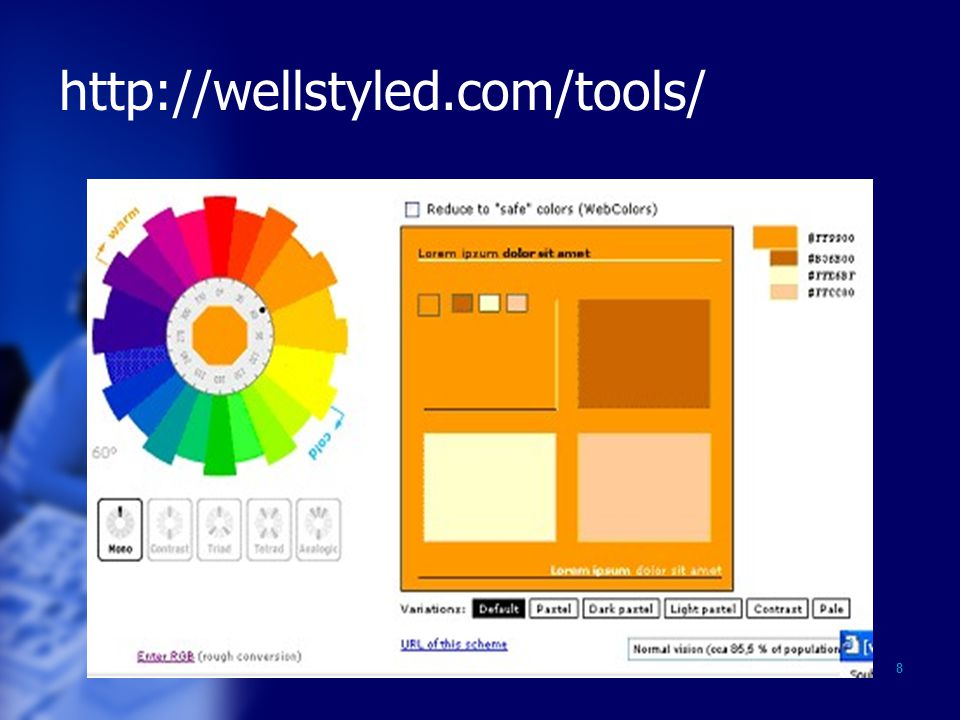 8 http://wellstyled.com/tools/