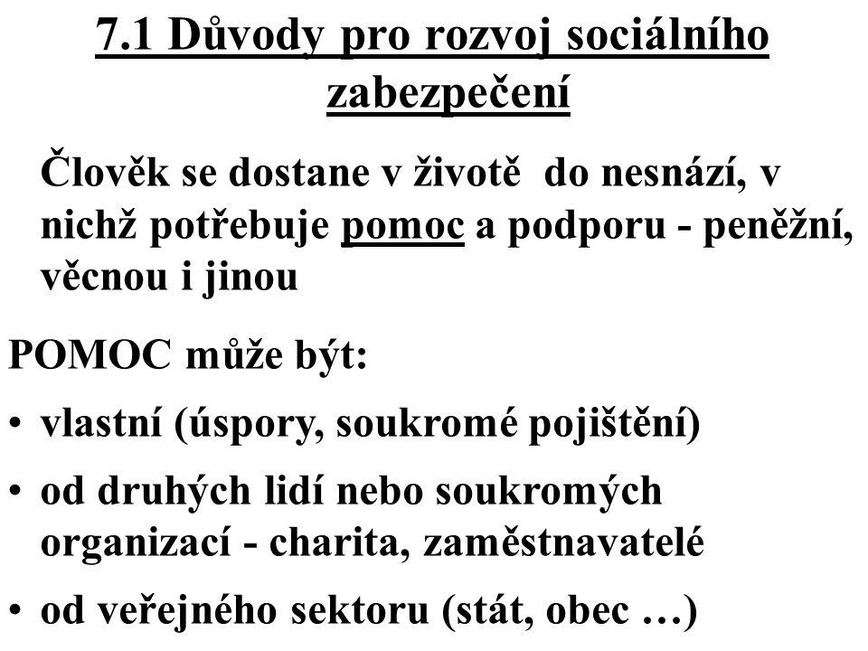 ČTYŘI CÍLE: zajistit, aby se vyplatilo pracovat a poskytovat zaručený příjem (1), zajistit zaručené důchody a udržitelné důchodové systémy (2), podporovat sociální integraci (3), zajistit vysokou kvalitu a udržitelnost zdravotní péče (4) Společná strategie modernizace sociální ochrany (EU 1999)