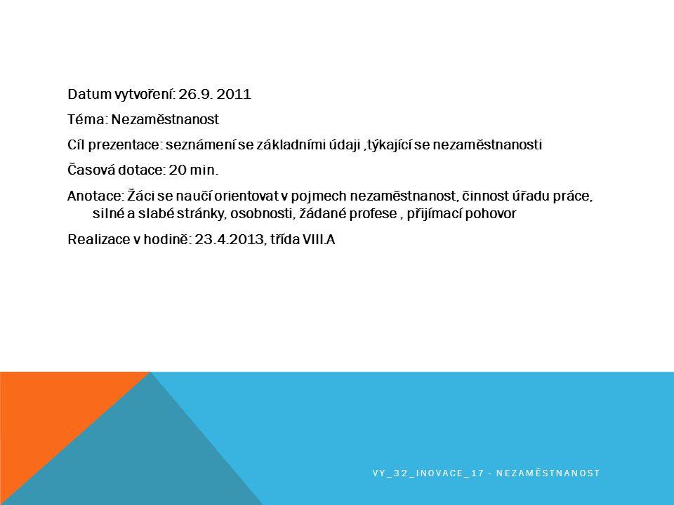 NA ÚVOD NĚCO ZE STATISTIKY…..K 31. 8.