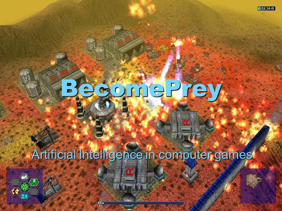 BecomePrey Artificial Intelligence in computer games