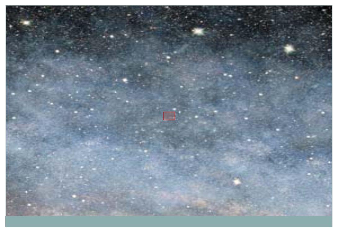 Jádro na obrázku a na fotografii Jaderné póry (na fotografii modře).