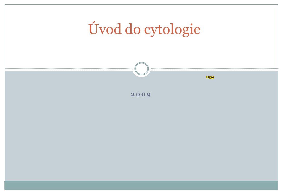2009 Úvod do cytologie