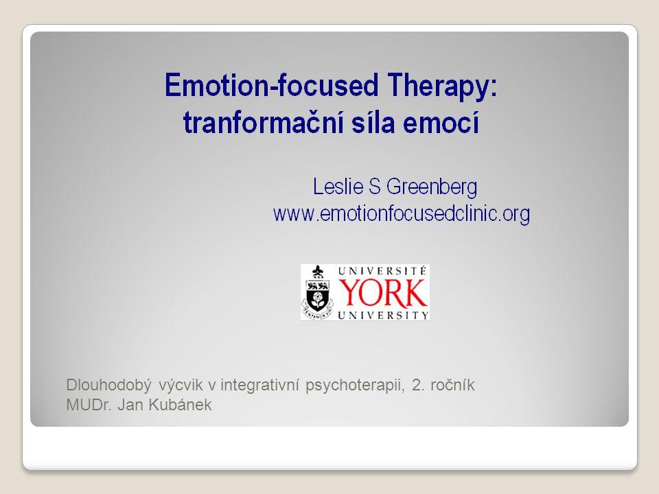 Dlouhodobý výcvik v integrativní psychoterapii, 2. ročník MUDr. Jan Kubánek