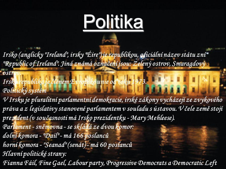 Politika Irsko (anglicky
