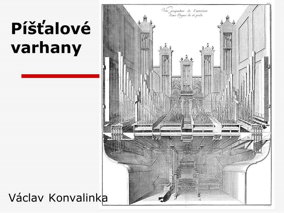 Varhany Latinský název pro varhany je organum.